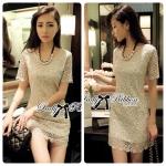 Lady Annie Ultimate Luxury Glitter Lace Dress