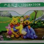ฟอร์ยบังแดดหน้ารถ หมีพูห์ และเพื่อน pooh ขนาด 130 ซม. * 70 ซม. สีเขียว