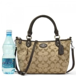 กระเป๋า Coach F33416 SV/BR Colette Signature Mini Fashion Satchel