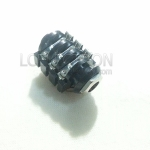 Stereo Plug ขารู Solder Lug บอดี้แบบปิด