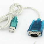 (พร้อมส่ง) สาย USB 2.0 To RS232 Com Port 9 PIN SERIAL DB25 DB9 Adapter Cable Converter