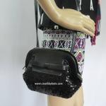 อยู่ USA : กระเป๋า Kate Spade Small Scotty WKRU2887 Viva road sequins black001
