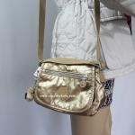สินค้าอยู่ USA : กระเป๋า Kipling AC7245 Sabian Color196 Goldnrdmet สีทอง