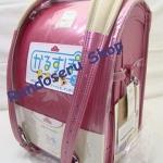 กระเป๋านักเรียนญี่ปุ่น เกรดพรีเมียม Soft Pink (Size L)