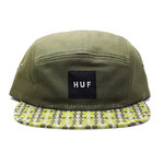 หมวก HUF Century Pattern Volley Olive