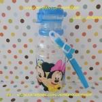 ขวดน้ำดื่ม มิกกี้เม้าส์ มินนี่เม้าส์ Mickey & Minnie mouse ขนาดความสูง 7.5 นิ้ว ความจุ 450 ml มีสายคล้องคอพร้อมหลอดดูด