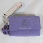 พร้อมส่งในไทย : กระเป๋าสตางค์ Kipling PIXI Color520 PURPLPEONY C1U1