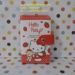 กระเป๋าใส่บัตรเครดิต นามบัตร บัตรต่างๆ คิตตี้ kitty#5 ขนาดยาว 9 ซม. * สูง 12 ซม. ลายฮัลโลคิตตี้ สีแดงขาว