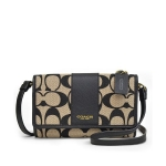 กระเป๋า COACH 62198 LEGACY PHONE CROSSBODY IN PRINTED SIGNATURE FABRIC
