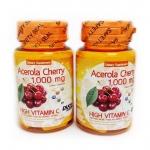 AK412 Acerola Cherry 1,000 mg. by Duo Zapp วิตามินซี จากอะเซโรล่า เชอร์รี่ Acerola Cherry 1000 mg 30 เม็ด