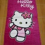 ผ้าเช็ดตัวขนหนูผืนใหญ่ คิตตี้ kitty#17 ขนาด 150 * 75 ซม.
