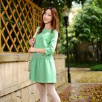 Korean fashion lady Lolita style sleeve dress