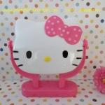 กระจกตั้งโต๊ะ คิตตี้ kitty#4 ขนาดกว้าง 7 นิ้ว * สูง 5 นิ้ว
