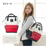 กระเป๋าเป้ Anello-PolyOxford Fabric Regular Size