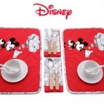 ผ้ารองจานชาม ลาย Mickey Mouse