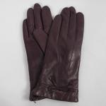 ถุงมือหนัง Coach F85229 SV/PM Park Leather Turnlock Gloves