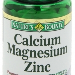 สินค้าอยู่  USA : Nature's Bounty Calcium-magnesium-zinc Caplets, 100-Count