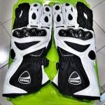 ถุงมือ Ducati ข้อยาว (สีขาวดำ)