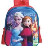 กระเป๋าเป้สะพายหลัง ลายนูน 3D โฟรเซ่น Frozen ขนาดสูง 13 นิ้ว
