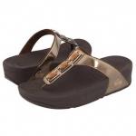สินค้าพร้อมส่ง : รองเท้า Fitflop Pietra สี Bronze ขนาด US9 = EUR41 = UK7
