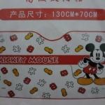 ฟอร์ยบังแดดหน้ารถ มิกกี้เม้าส์ mickey mouse#1 ขนาด 130 * 70 ซม. ลายมิกกี้เม้าส์ สีขาวแดง