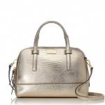 สินค้าพร้อมส่ง : กระเป๋า Kate Spade New York Riverside Street Felix Satchel White Gold(755) WKRU3064
