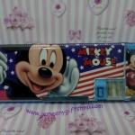 กล่องดินสอแม่เหล็ก มิกกี้เม้าส์ Mickey mouse#2 มีกบเหลาในตัว