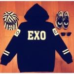 *พร้อมส่ง* เสื้อฮู๊ด EXO ไซส์ XL