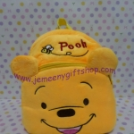 กระเป๋าเป้สะพายหลังใบเล็กจิ๋ว หมีพูร์ Pooh ขนาดกว้าง 5 ซม * ยาว 22 ซม * สูง 22 ซม สำหรับเด็กเล็ก 2-3 ขวบ