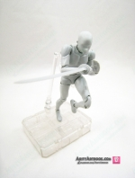 SHF Male BODYKUN DX SET Gray Color Ver.