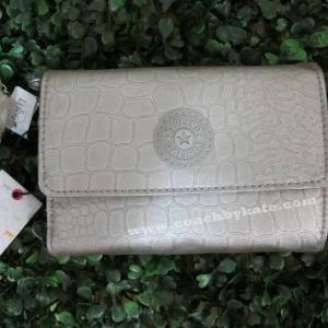 กระเป๋าสตางค์  Kipling Pixi AC6108-847 Silvrbesnk Wallet