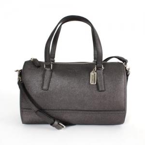 กระเป๋า COACH 49392 SV/GM SAFFIANO LEAHTER MINI SATCHEL CROSSBODY SILVER/GUNMETAL