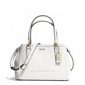 กระเป๋า Coach 30402 LIWHT Madison Mini Christie Saffiano Leather Handbag Purse