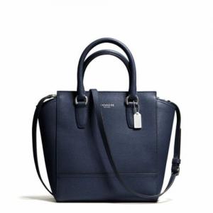 กระเป๋า COACH 50707 SV/NV LEGACY SAFFIANO LEATHER MINI TANNER CROSSBODY TOTE