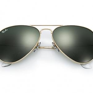 แว่นตา Ray-Ban RB3025 L0205 58-14 AVIATOR CLASSIC GREEN CLASSIC G-15