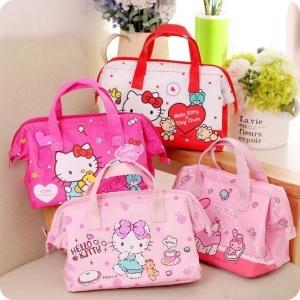 ของใช้เด็ก : กระเป๋าเก็บอุณหภูมิ ลาย Sanrio ราคาต่อ 1 แบบ**ขนาด 24*14*18 cm.