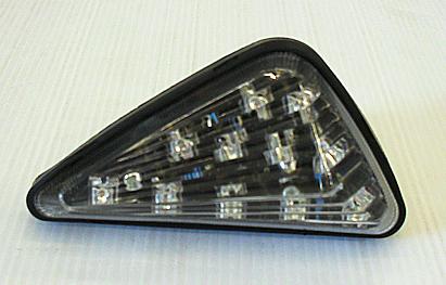 ไฟเลี้ยวแต่ง LED ทรงสปอร์ต แปะข้าง (มีของ Kawasaki/Honda/Yamaha)