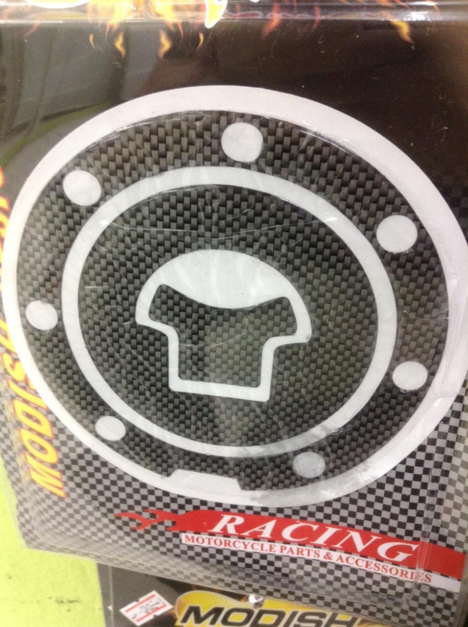สติ้กเกอรติดฝาถังน้ำมัน ลายเคฟล่า CBR150-250