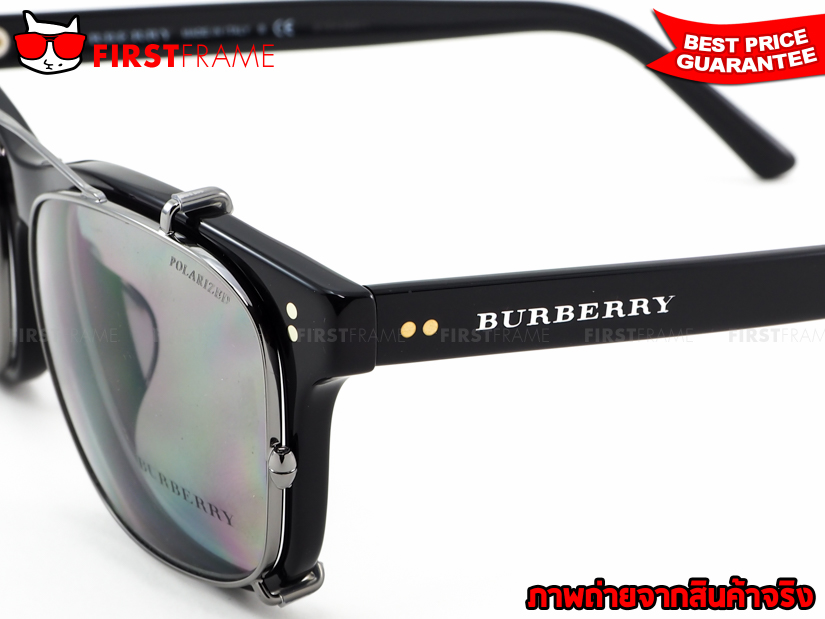 BURBERRY BE2196F 3001 Clip On Polarized 6