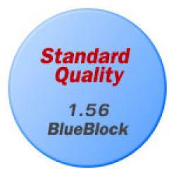 Standard Quality 1.56 Blue Block