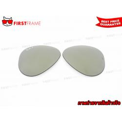 RayBan AVIATOR REPLACEMENT LENS / Green Mirror Silver Polar