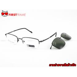 GUILCHY 100% TITANIUM and Polarized Clip On 722 C06