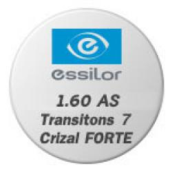 1.60 AS Transitons 7 Crizal FORTE UV