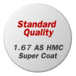 Standard Quality 1.67 ASPHERIC HMC Super Coat