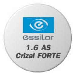 Essilor 1.6 AS Crizal FORTE uv