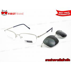 GUILCHY 100% TITANIUM and Polarized Clip On 722 C16