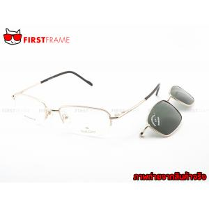 GUILCHY 100% TITANIUM and Polarized Clip On 712 C01