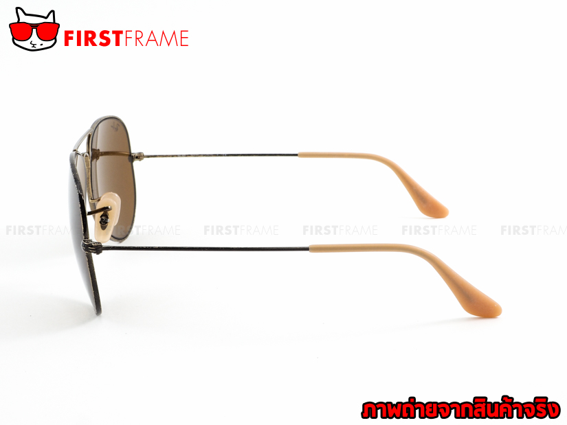 แว่นกันแดด RayBan RB3025 177/33 AVIATOR DISTRESSED3