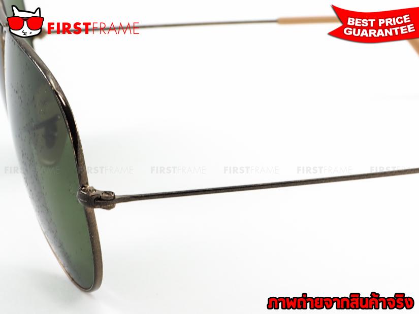 แว่นกันแดด RayBan RB3025 177/4E AVIATOR DISTRESSED4