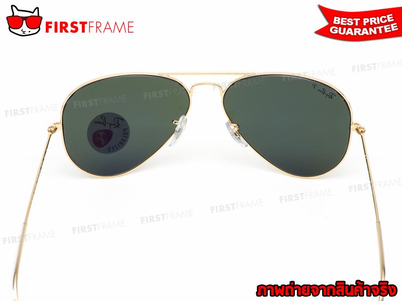 แว่นกันแดด RayBan RB3025 001/58 AVIATOR LARGE METAL5